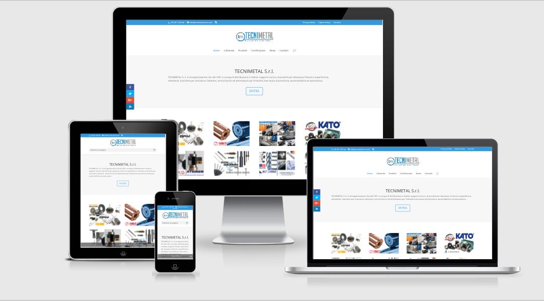 sito web responsive industria meccanica di precisione